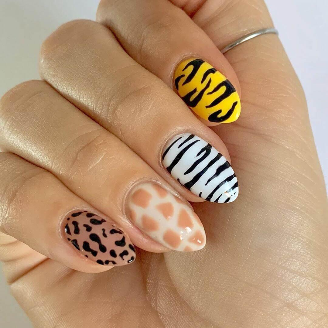 Ongles pour impression d'animaux