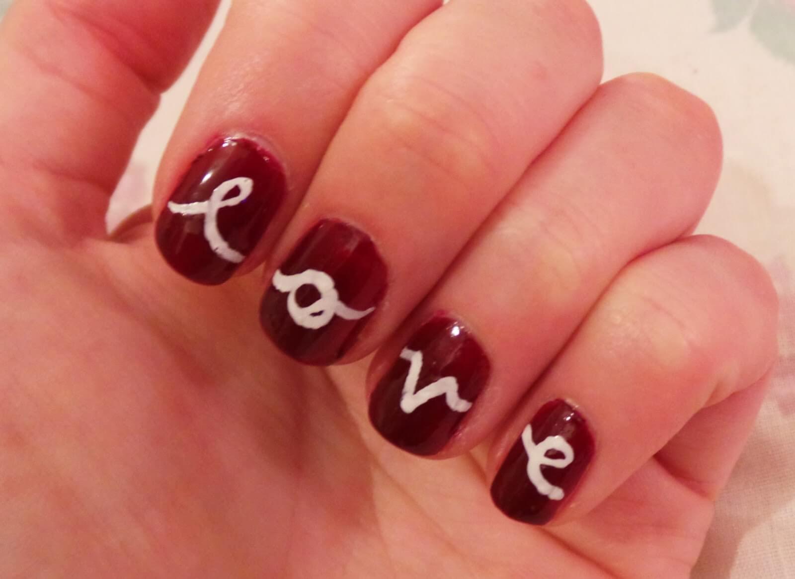 Ongles d'amour Ongles de la Saint-Valentin (11)