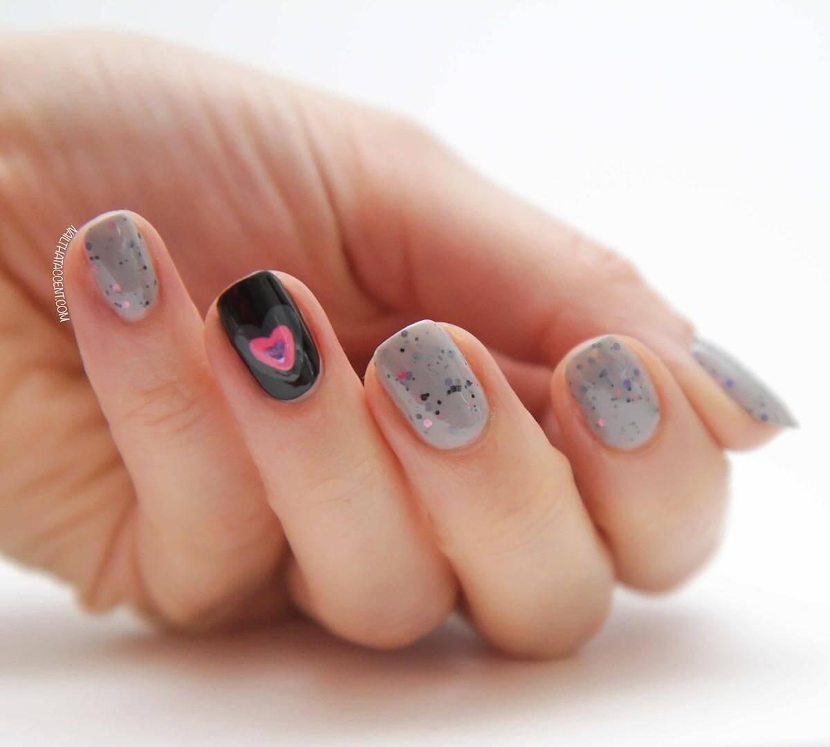 Ongles d'amour Ongles de la Saint-Valentin (13)