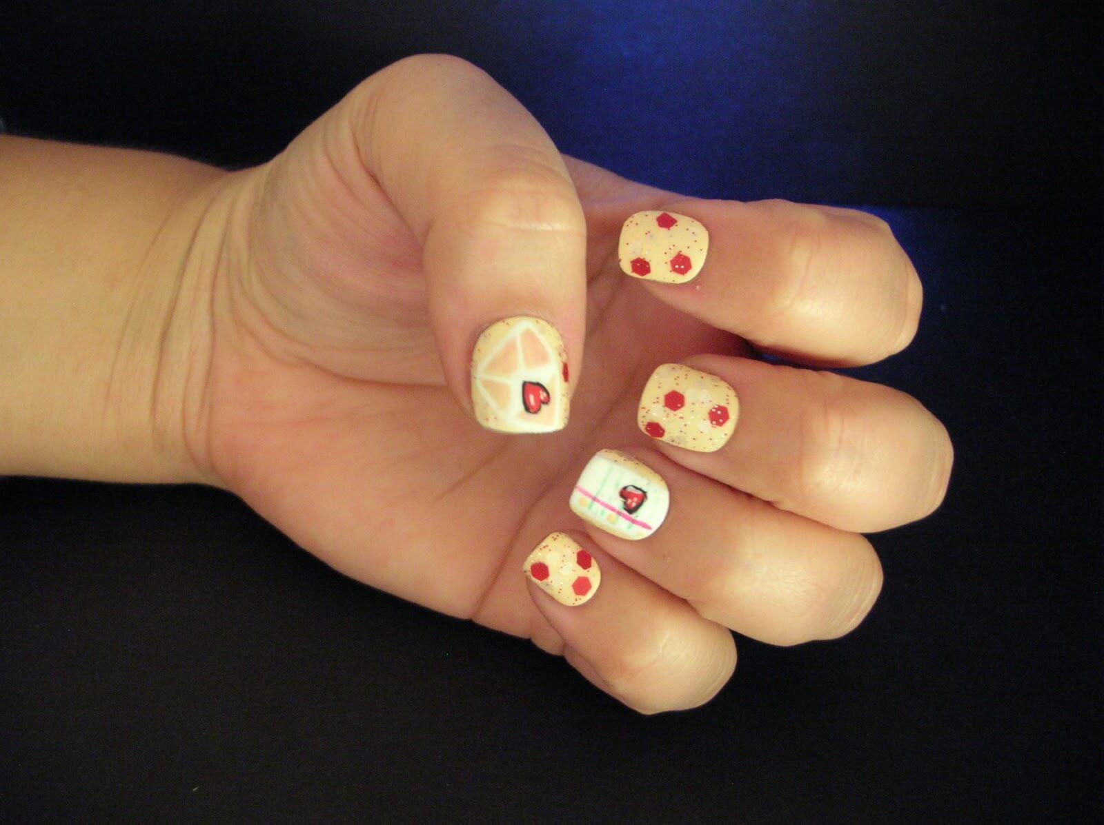 Ongles d'amour Ongles de la Saint-Valentin (8)