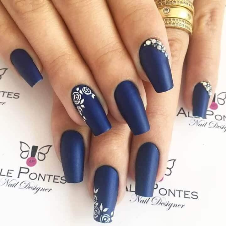 Ongles bleus King