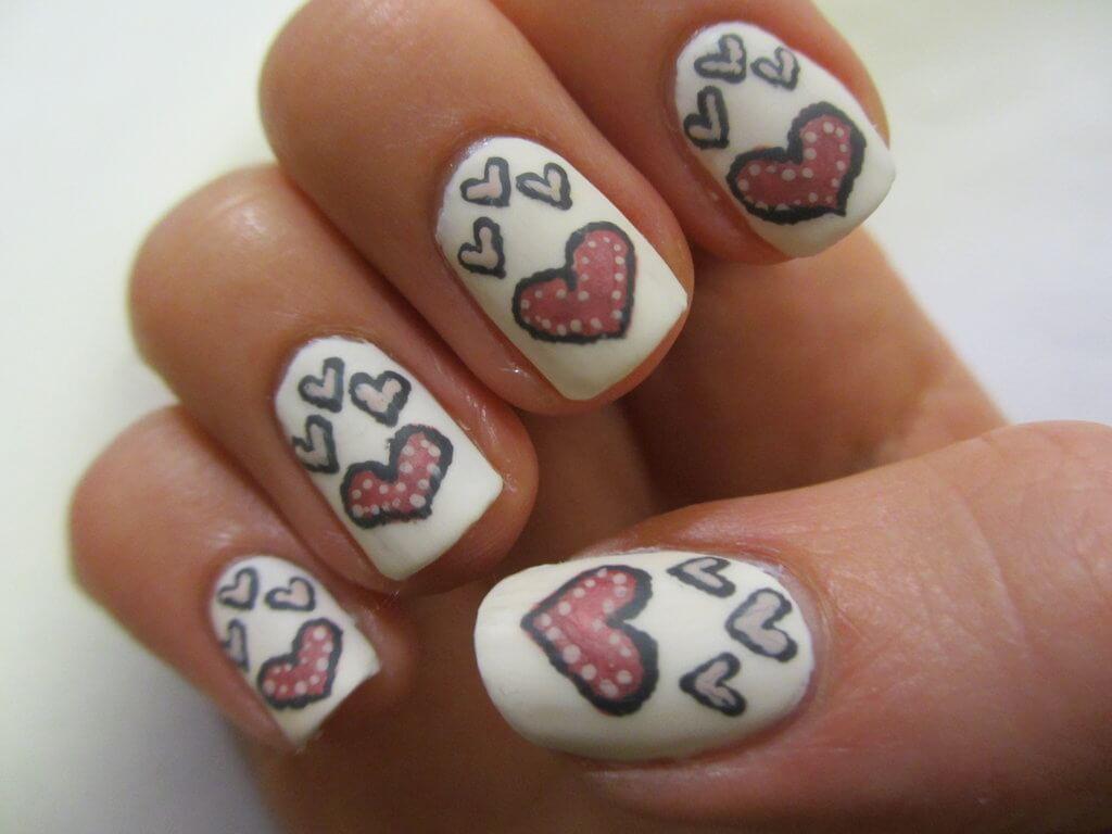 quelques coeurs aiment jour dans l'amour (1)