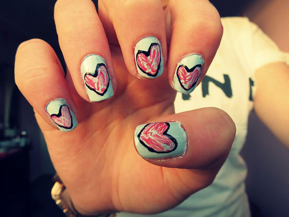quelques coeurs aiment jour dans l'amour (4)