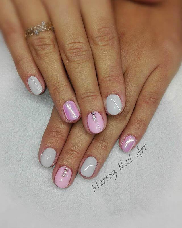 En rose perle