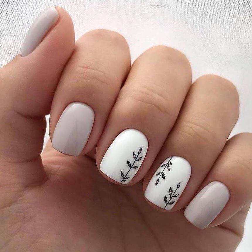 ongles courts pour les mariages