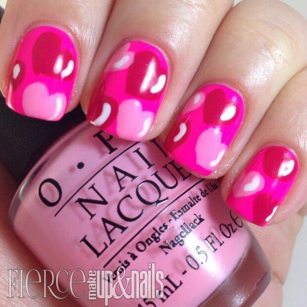 ongles d'amour jour de la saint valentin (1)
