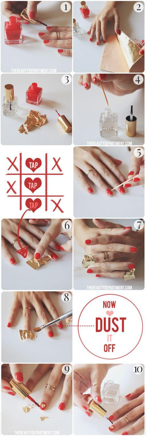 ongles d'amour jour de la saint valentin (3)