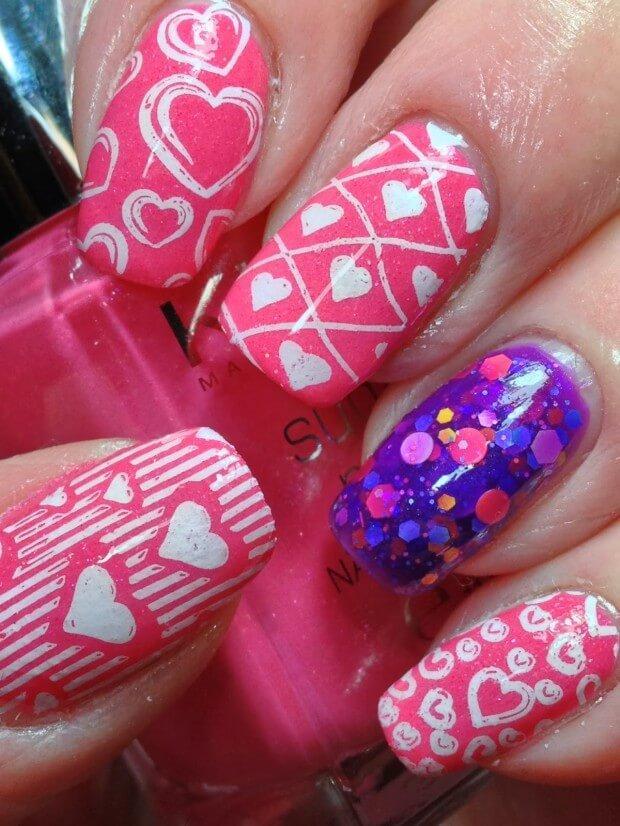 ongles d'amour jour de la saint valentin (7)