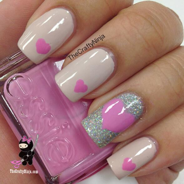 ongles d'amour jour de la saint valentin (9)