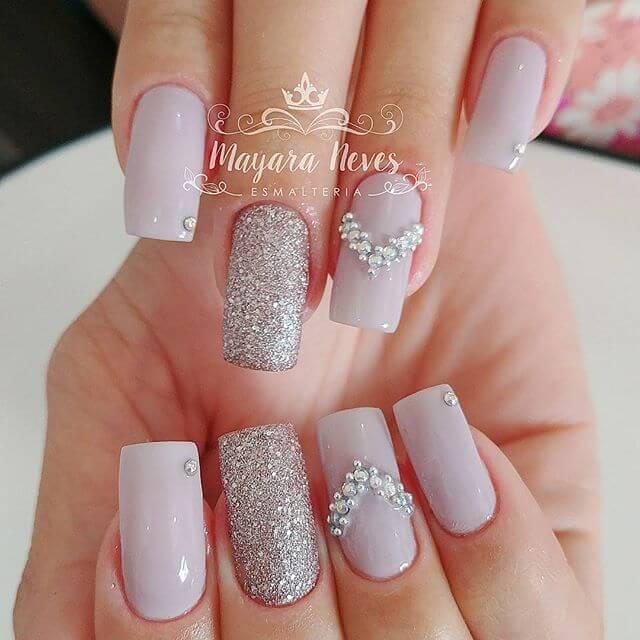 ongles de caviar de mariage