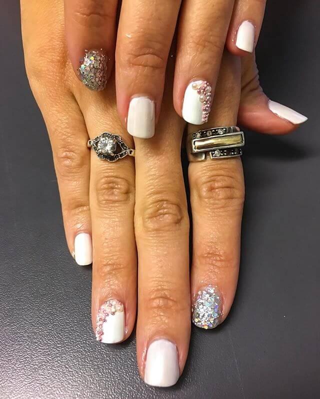 ongles de caviar pour les mariées