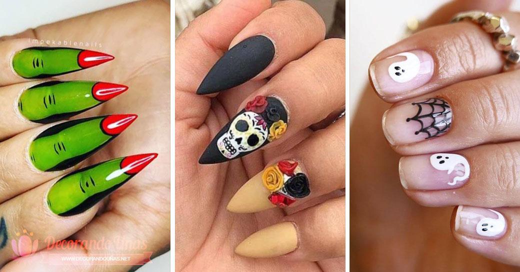 ongles de Halloween
