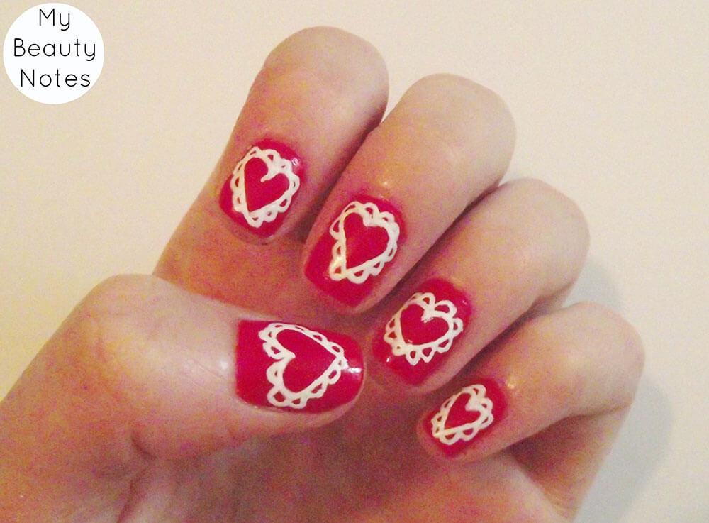 Coeurs de Saint-Valentin décorés (1)