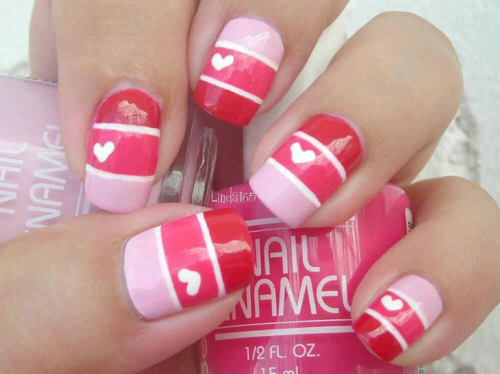 cœurs de Saint-Valentin décorés (10)