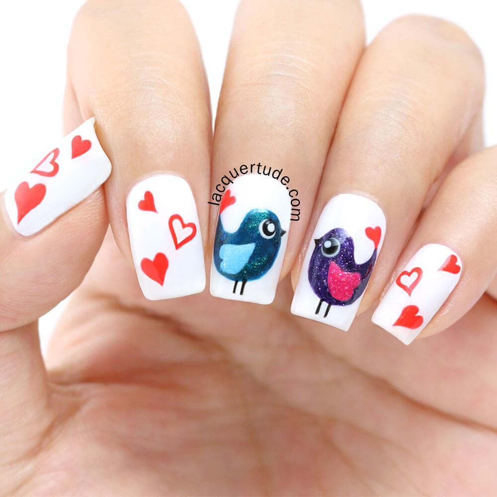cœurs décorés (5)