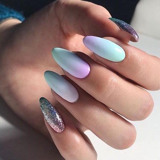ongles en gel chromatique