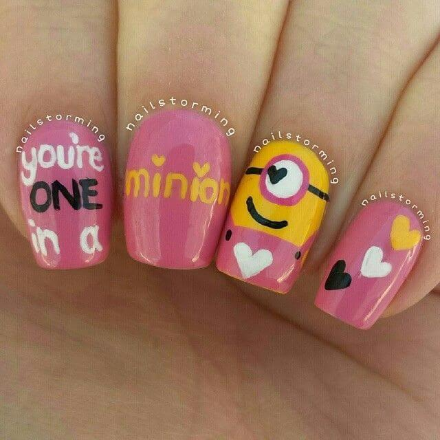 ongles nail art valentines (9)