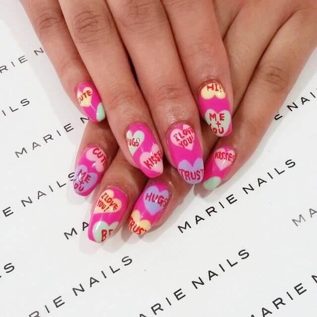 ongles nail art valentines (2)