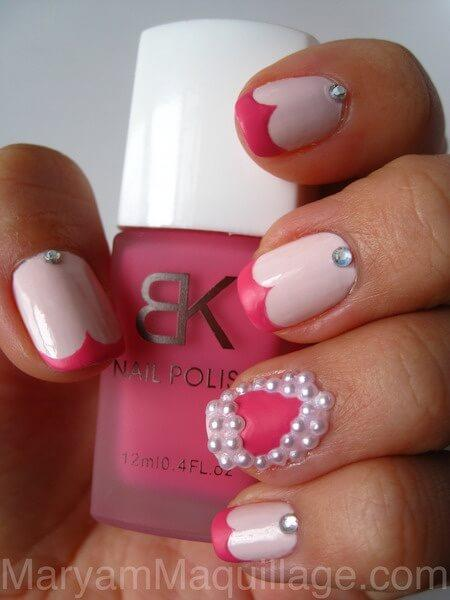 ongles nail art valentines (4)