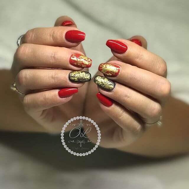 Noir, rouge et or