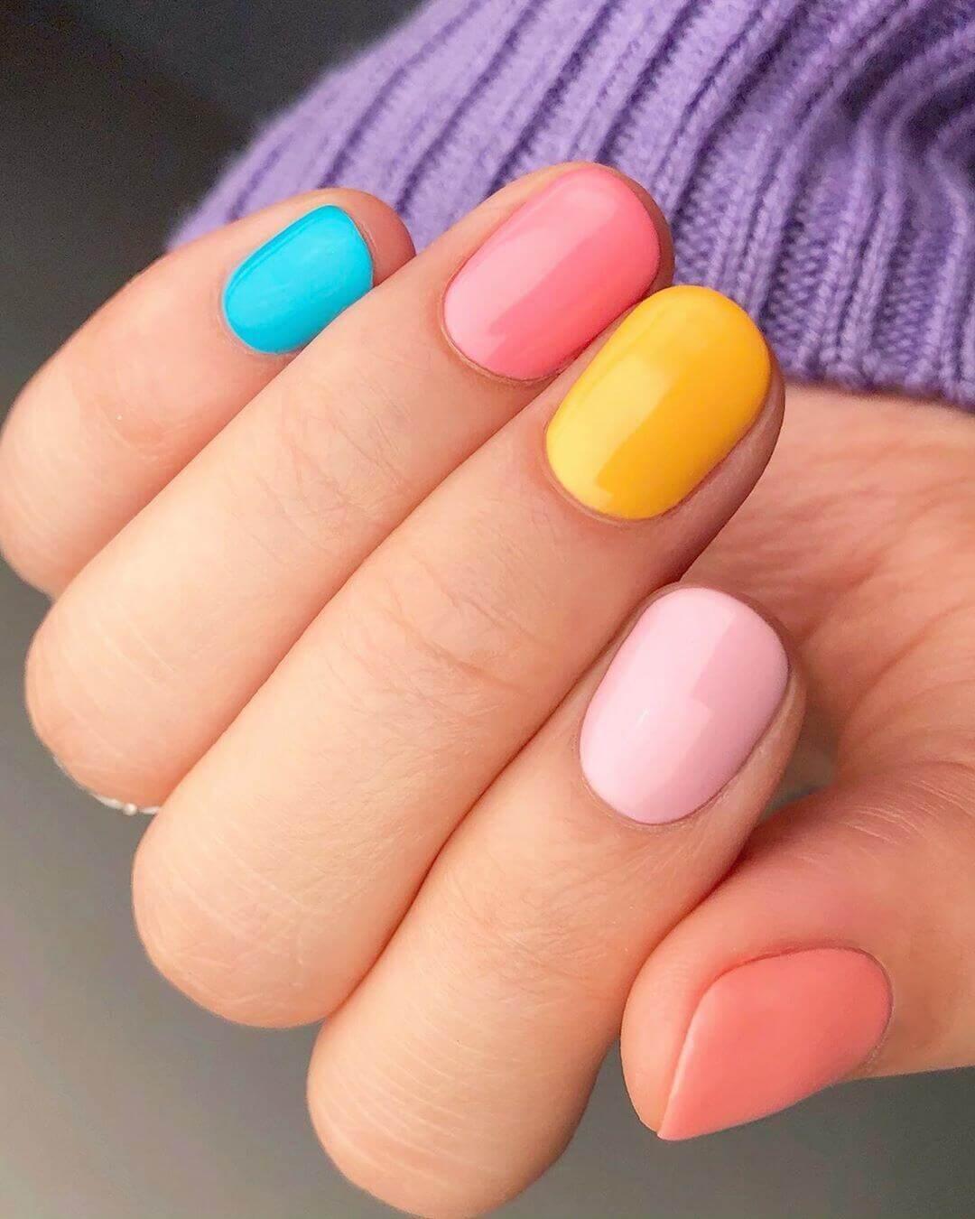 ongles simples décorés